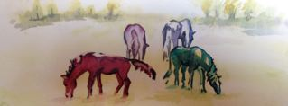 """Friday's Gallery Opening at the SteamPlant features """"High Point: The Art of Showing Horses"""""""