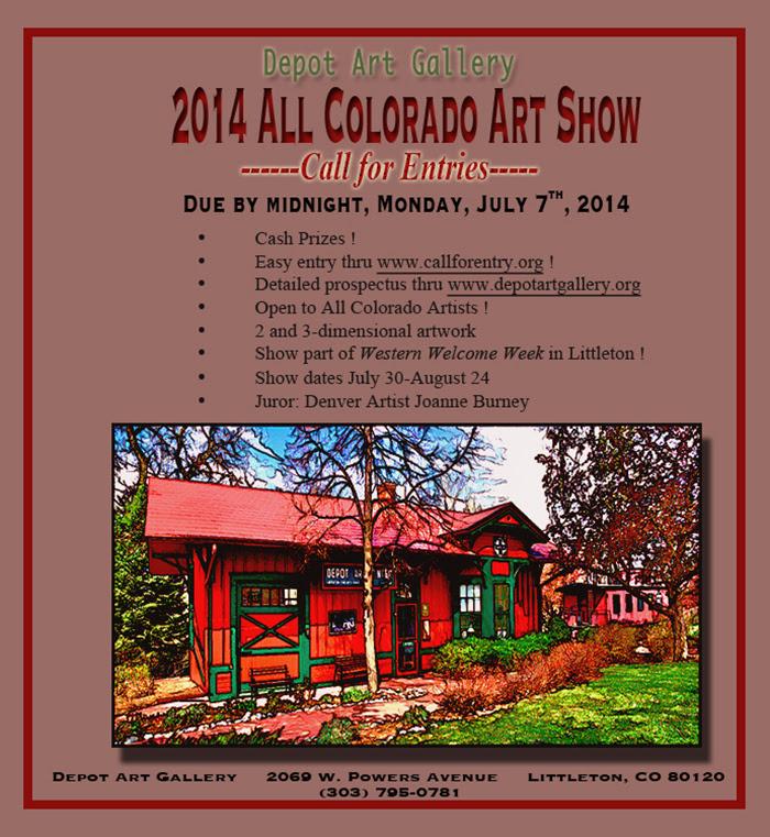 """""""All Colorado Art Show"""" Call for Entries"""