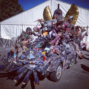 Earth, Wind & Fire ArtCar at the 2014 CCI Summit in Salida