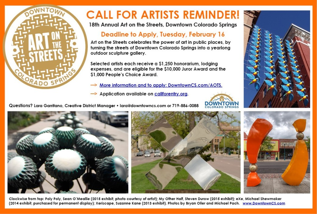 Call for Artists – Colorado Springs