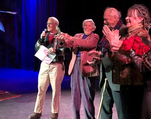 Bernice Strawn Wins Arts Achievement Award