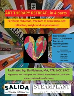 Art Therapy Retreat with Tia Pleiman (Session 1)